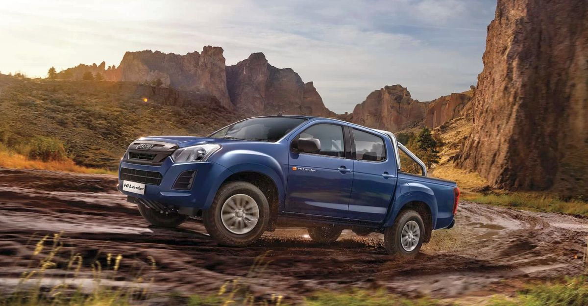 2021 Isuzu V-Cross Hi-Lander BS6 already available with Rs. 1.5 lakh discount