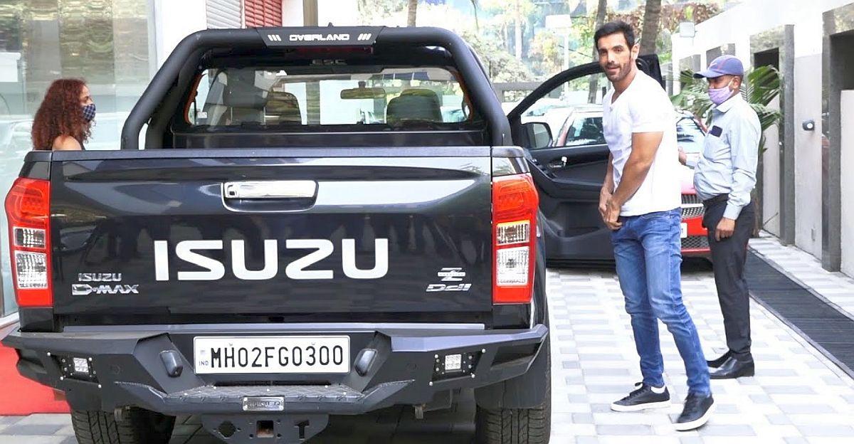 Watch Bollywood star John Abraham take a spin in his Isuzu V-Cross