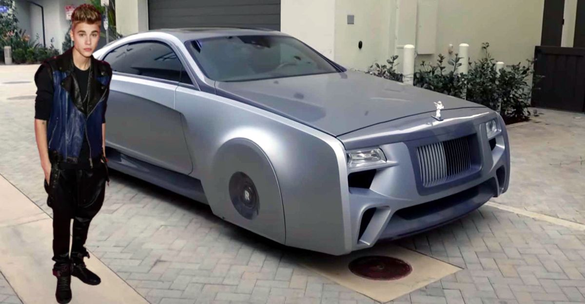 Justin Bieber's Floating Rolls Royce Wraith looks futuristic: Cries on seeing it for first time