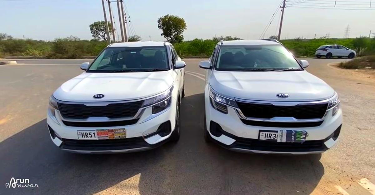 Kia Seltos SUV: Petrol vs Diesel in a drag race
