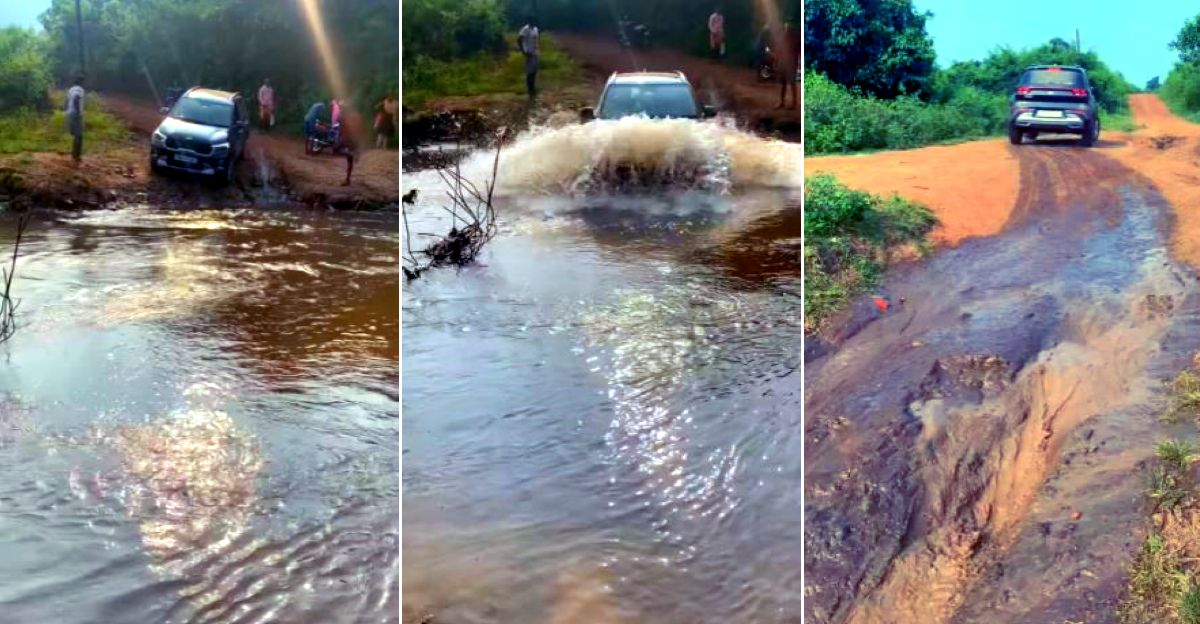 Kia Sonet crosses a river but should you do such things in a compact SUV?