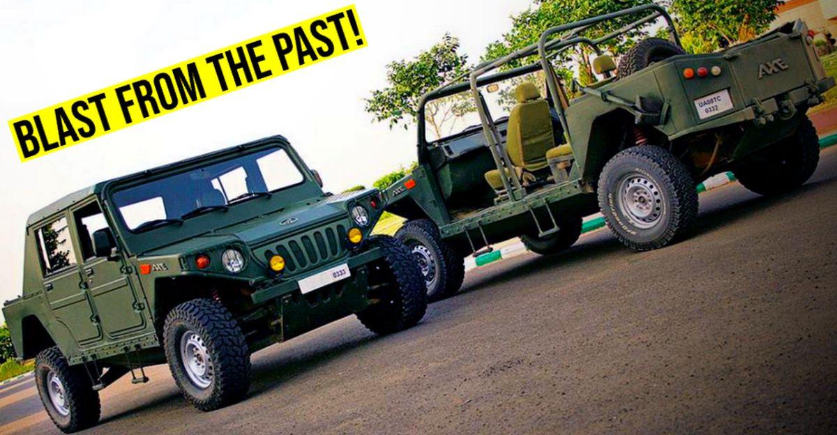 11 FORGOTTEN Mahindra vehicles of India: Armada to Commander