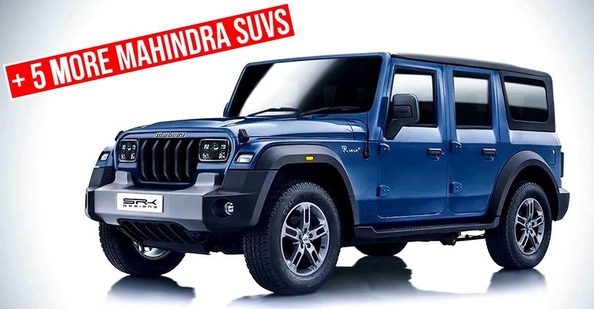 6 new Mahindra SUVs for India confirmed: From 5 door Thar to next-gen Bolero