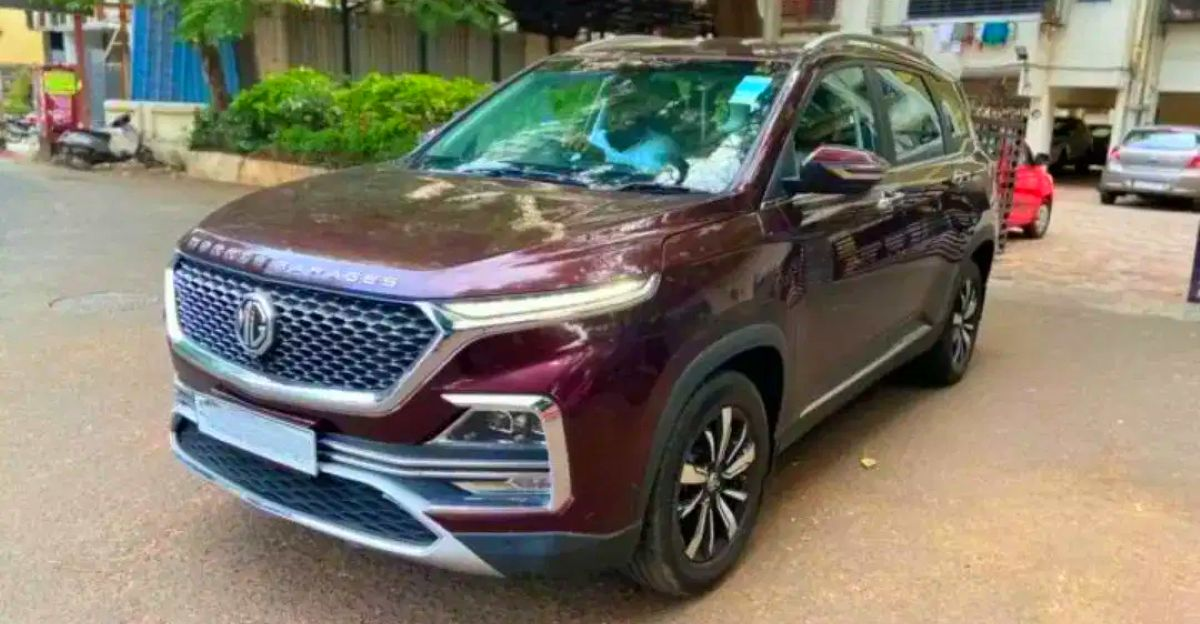 Barely used MG Hector SUVs for sale