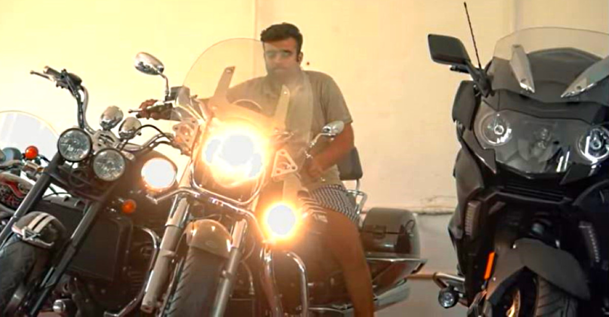 Meet the Indian who owns 20 cruiser motorcycles worth more than Rs. 3.5 crores