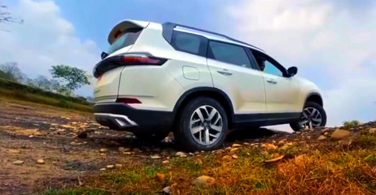 All-new Tata Safari shows off its 'off road' mode