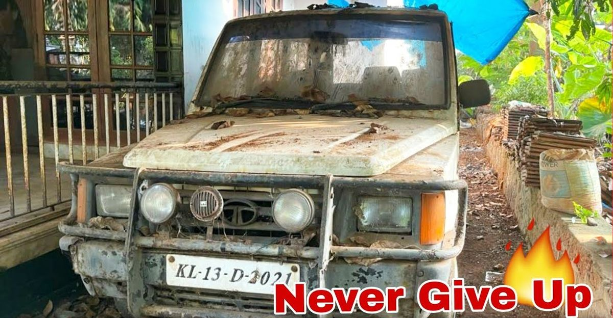 Starting a 1997 model Tata Sumo MUV after 12 years