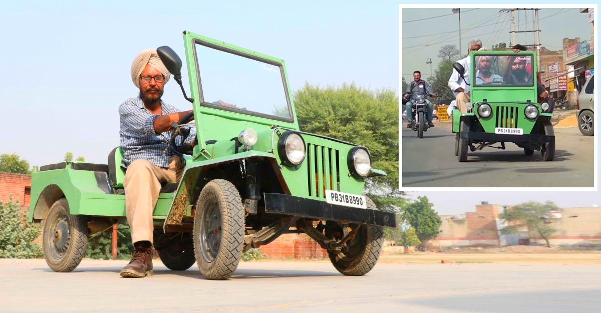 World's smallest Jeep is powered by Honda Activa and Maruti Suzuki 800 [Video]