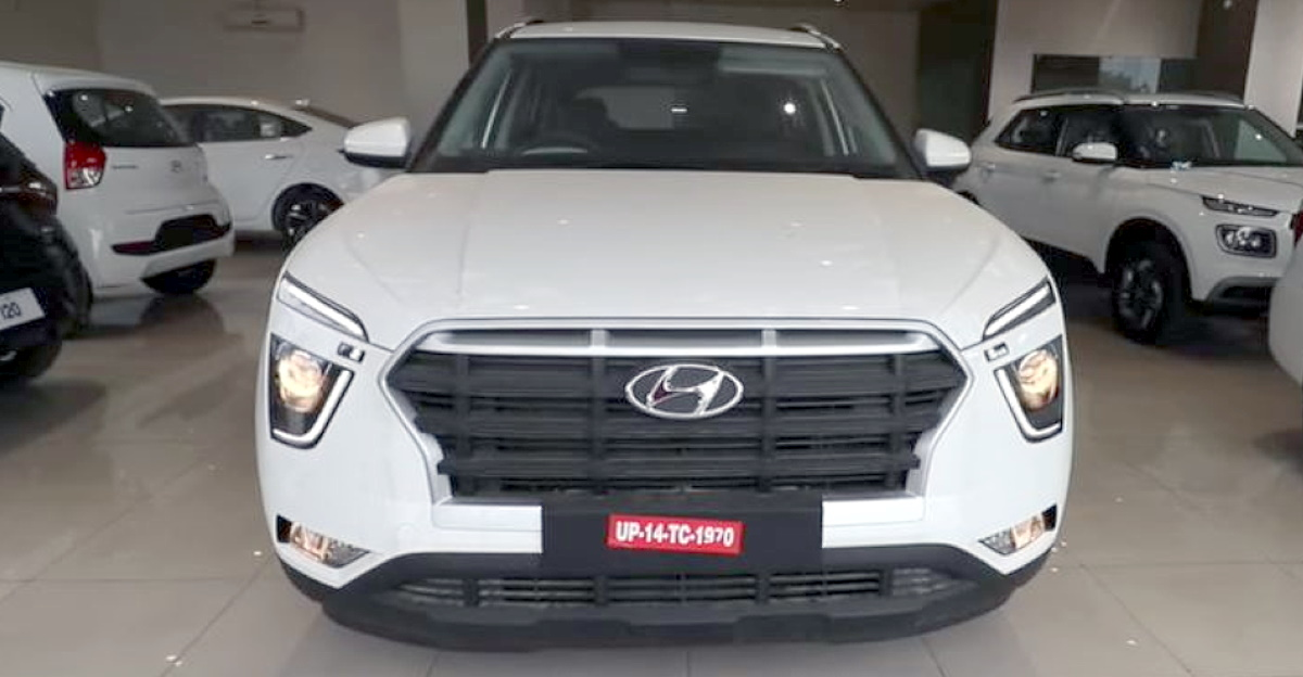 2021 Hyundai Creta installed with genuine accessories worth Rs. 1.5 lakh