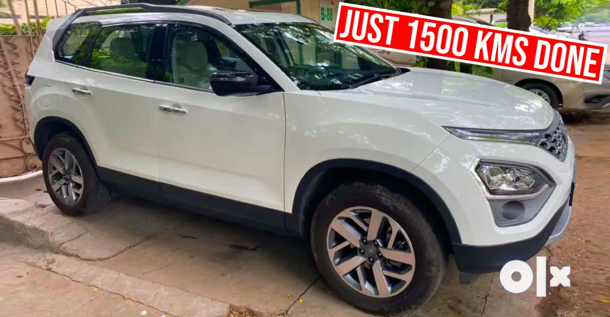 2021 Tata Safari 7 seat SUV hits the used car market