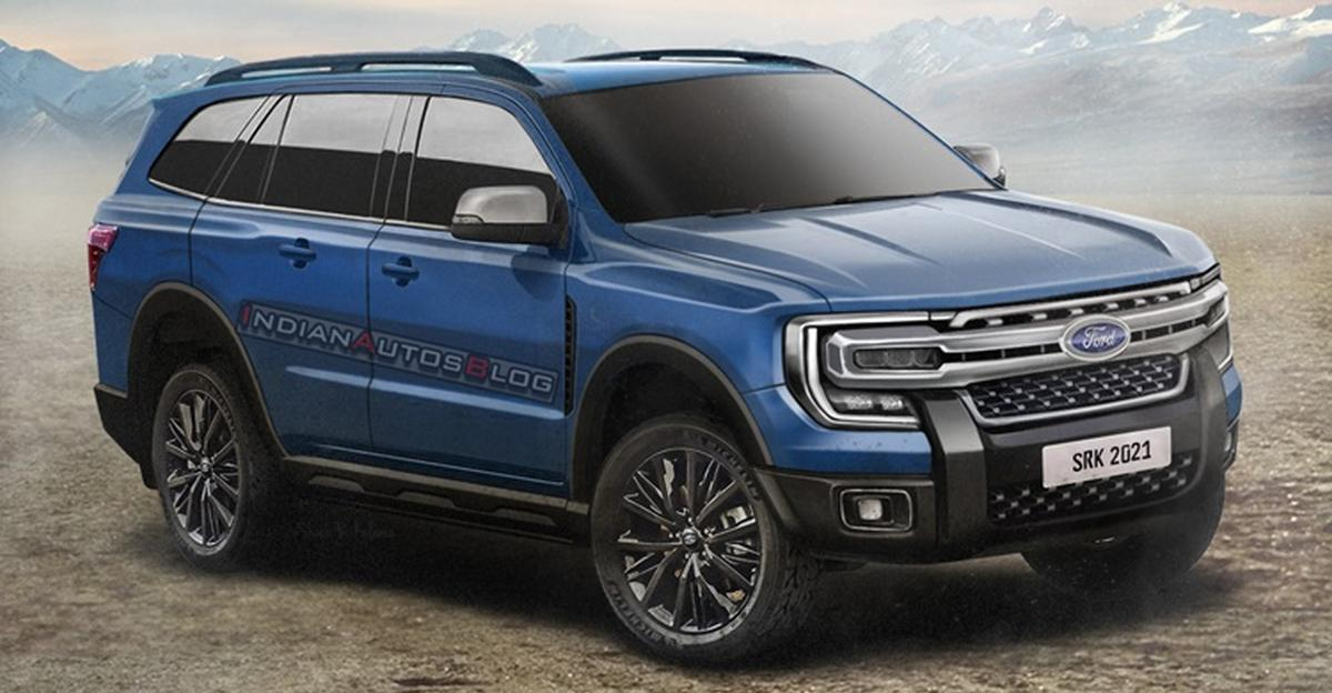 2022 Ford Endeavour: What the Toyota Fortuner challenger could look like