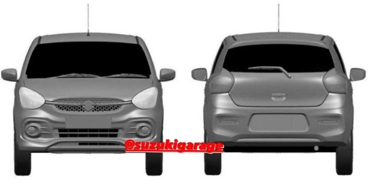 Maruti Suzuki 2021 Celerio leaked in patent images