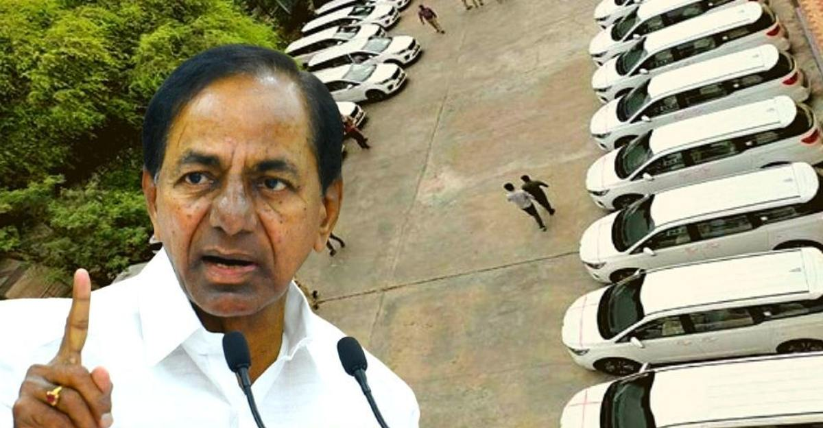 CM buys Collectors 32 Kia Carnival luxury MPVs worth Rs. 10 crore to 'motivate them': Faces backlash