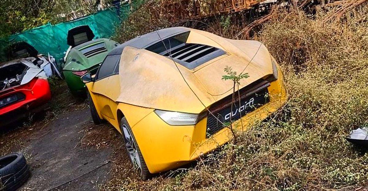 DC Avanti sportscars abandoned at Talegaon factory near Pune