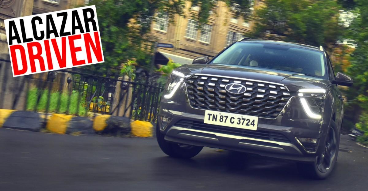 Hyundai Alcazar SUV in CarToq's first drive review