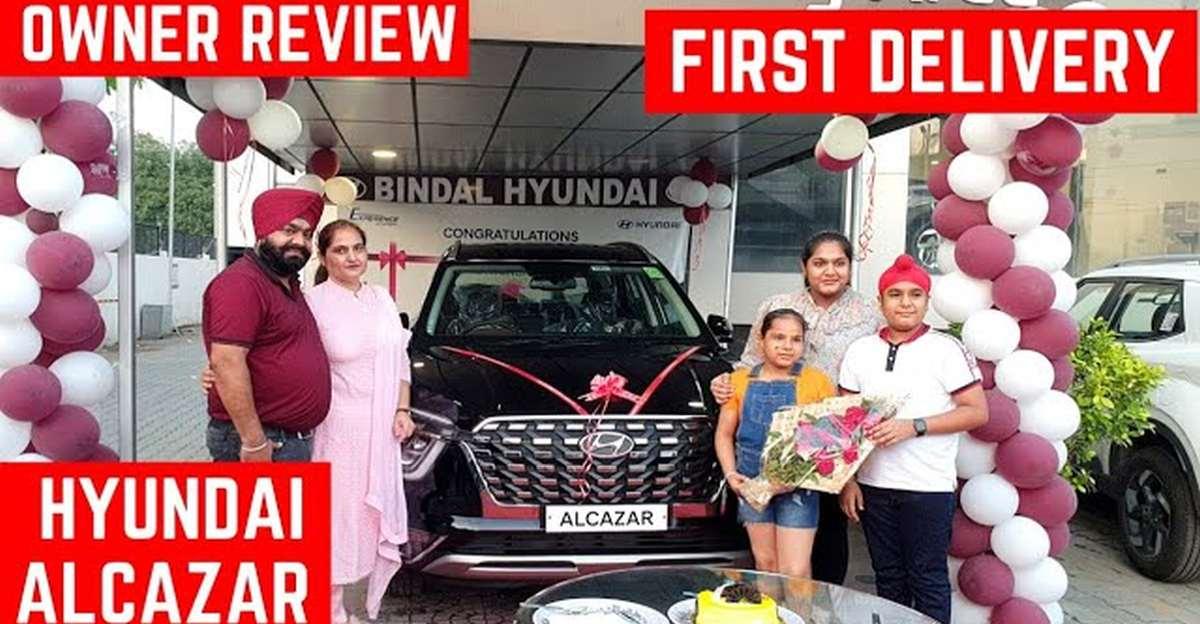 Hyundai Alcazar: Taking delivery of Hyundai's latest 7-seater SUV [video]