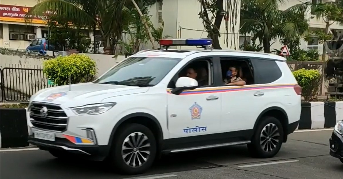 MG Gloster luxury SUV is now a part of Ambani security convoy