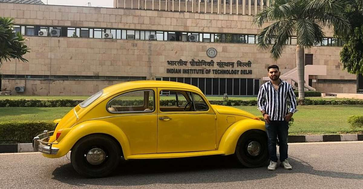 23-year old engineer from Jammu converts Vintage Cars into Electric Vehicles