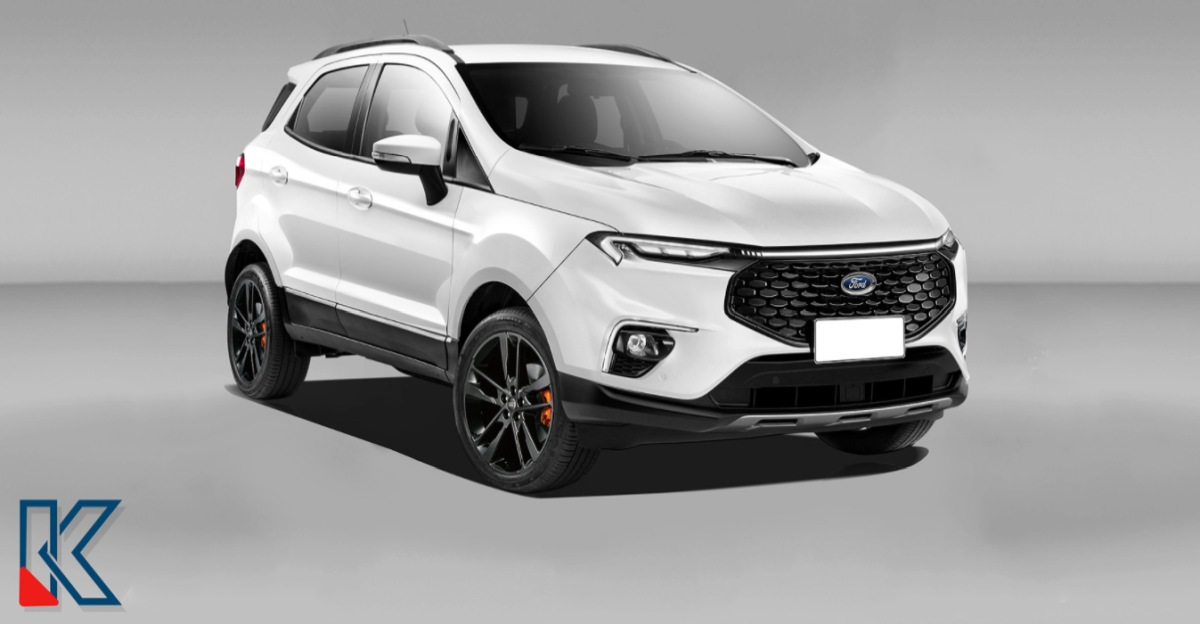 Facelifted Ford EcoSport: What it'll look like