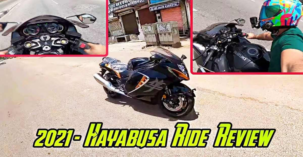 2021 Suzuki Hayabusa: Vlogger shares riding experience