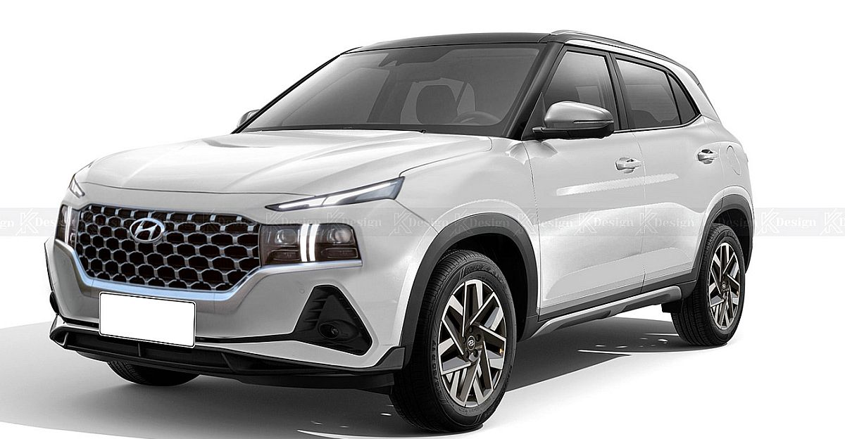Faceifted Hyundai Creta: What it could look like