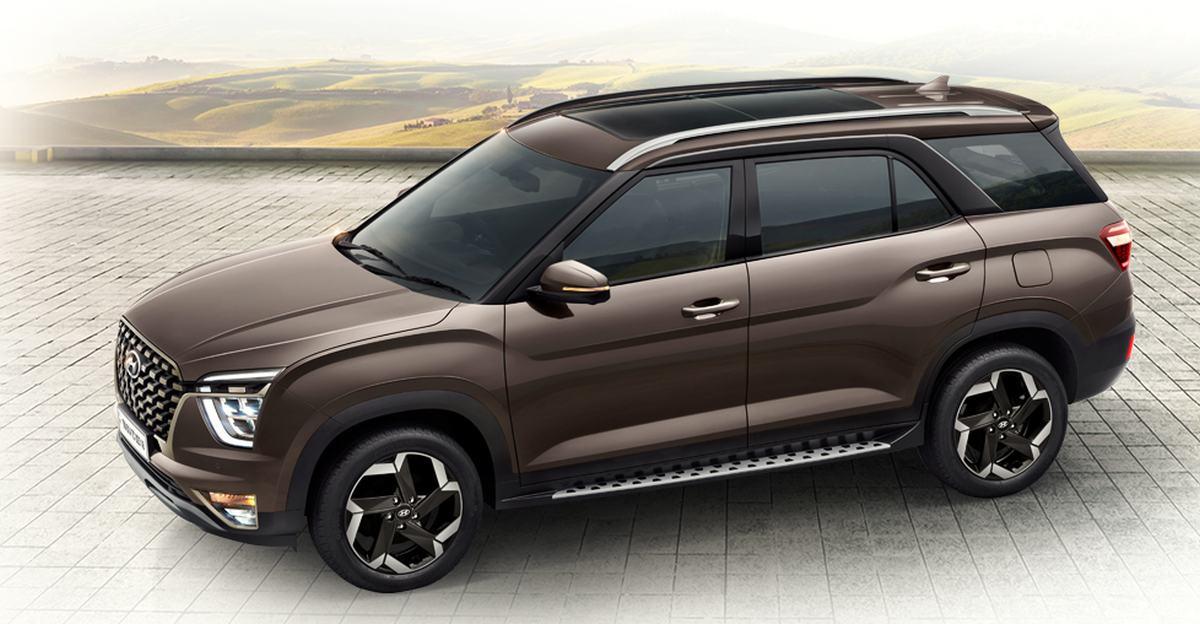 Hyundai Alcazar brochure leaked ahead of launch