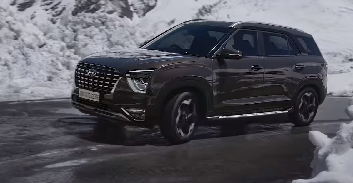 Hyundai Alcazar: New pictures and video released ahead of launch