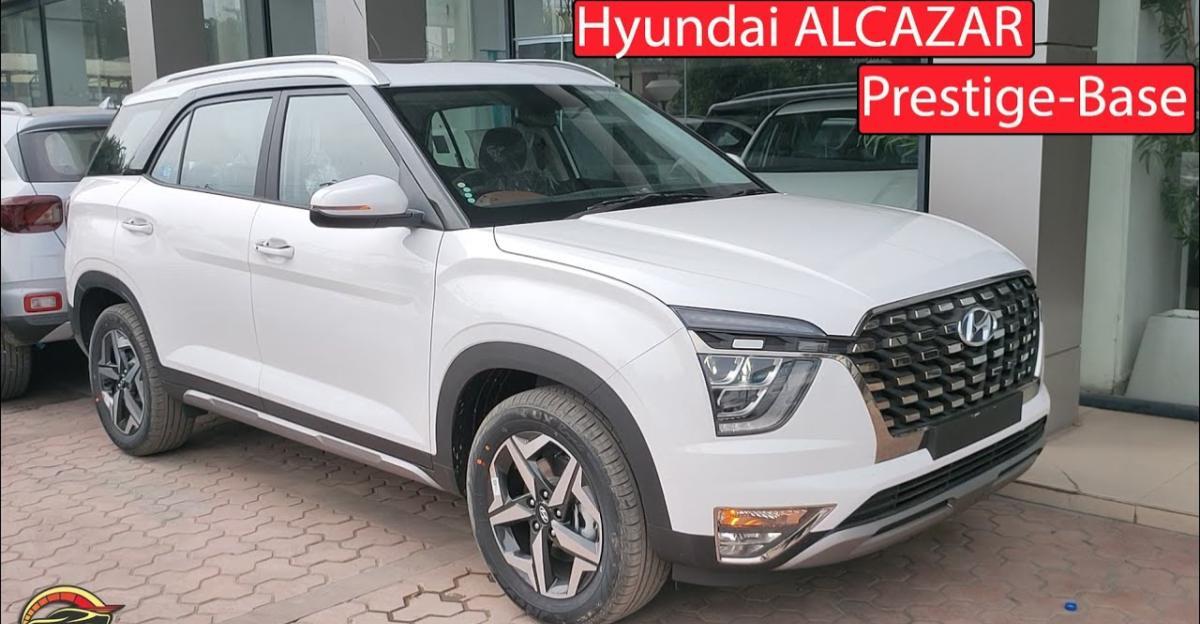 Hyundai Alcazar Base Prestige variant: What all does it offer