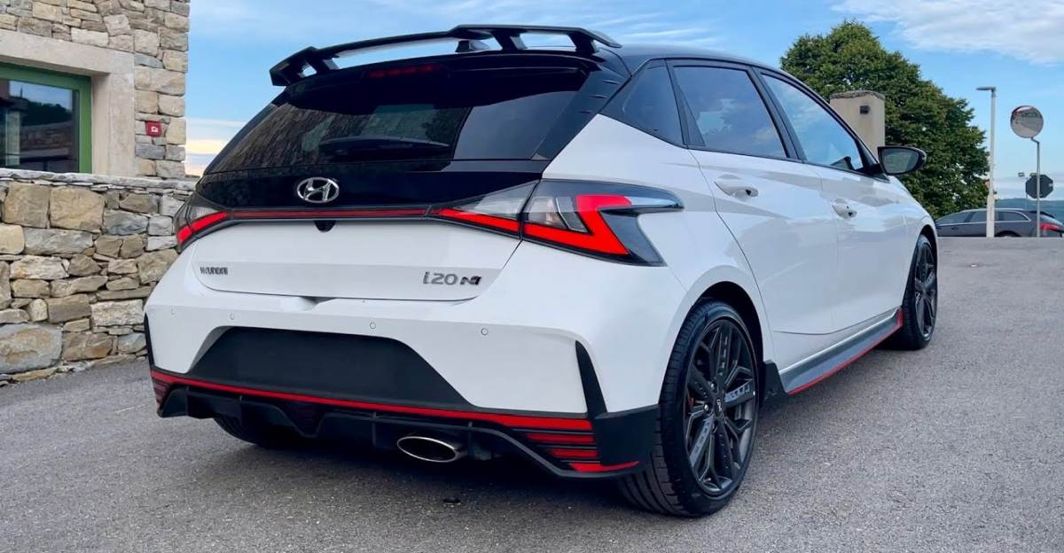Hyundai i20 N-Line: A closer look at the India-bound hot hatchback