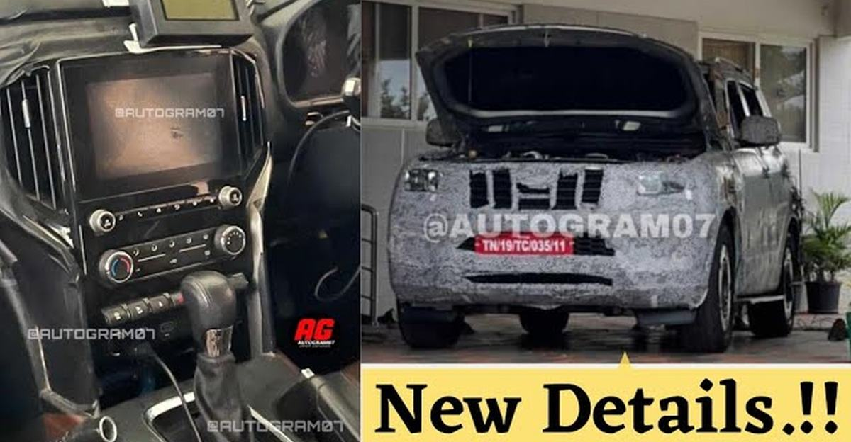 Mahindra Scorpio spotted once again ahead of launch: Reveals new details