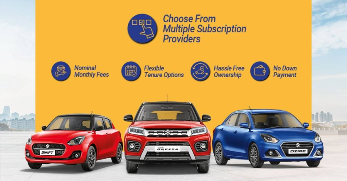 Maruti Suzuki launches subscription-based services in Jaipur, Mangalore and more cities