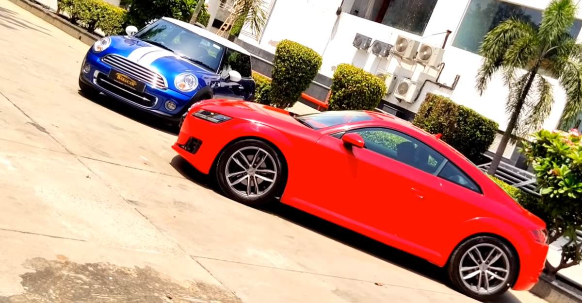 Sparingly used Mini Cooper &  Audi TT sportscars available at attractive prices