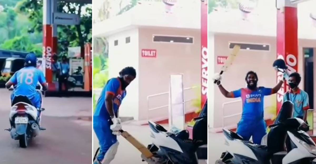 Scooterist's funny meme to mark petrol prices going past Rs. 100/liter goes viral