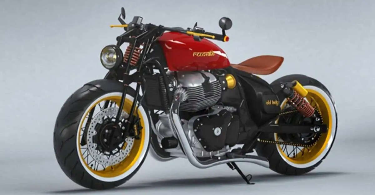 This bobber concept based on Royal Enfield Continental GT 650 looks gorgeous