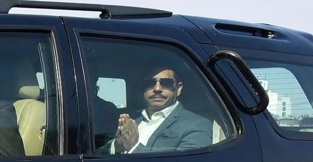 Delhi Police issues challan to Robert Vadra's car for 'dangerous driving'