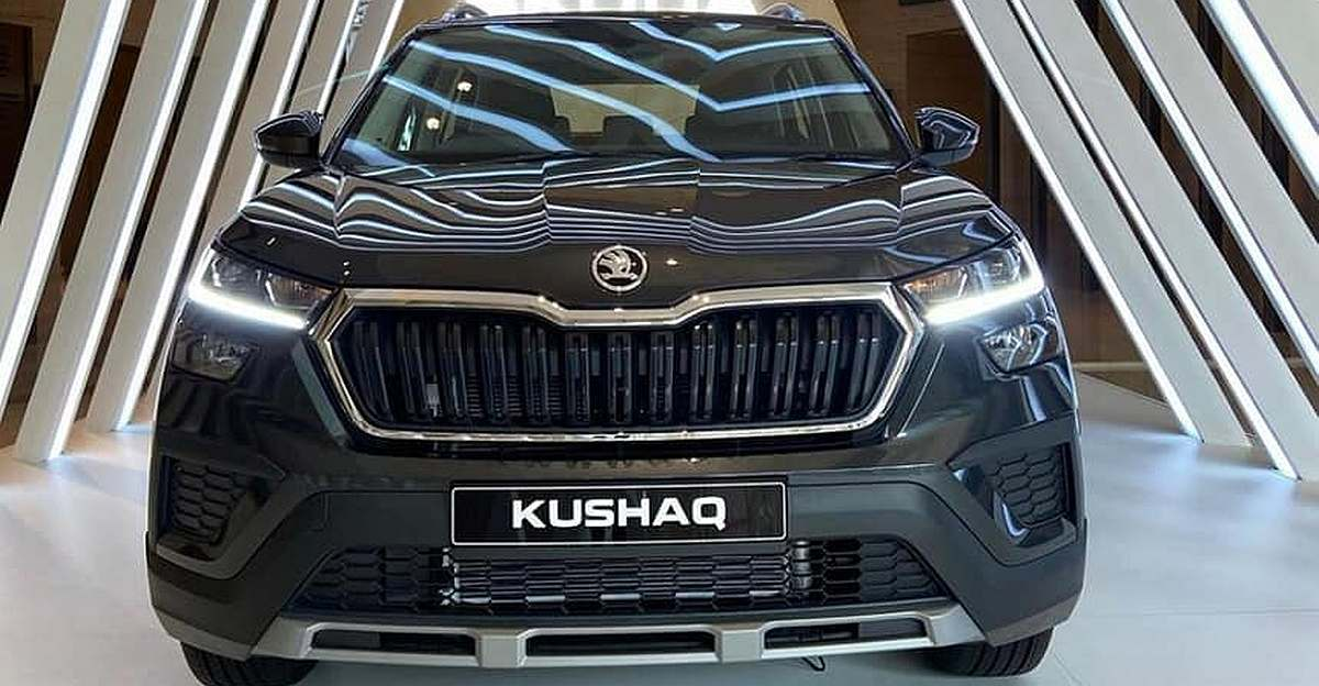 Skoda Kushaq: New pictures of compact SUV surface ahead of launch