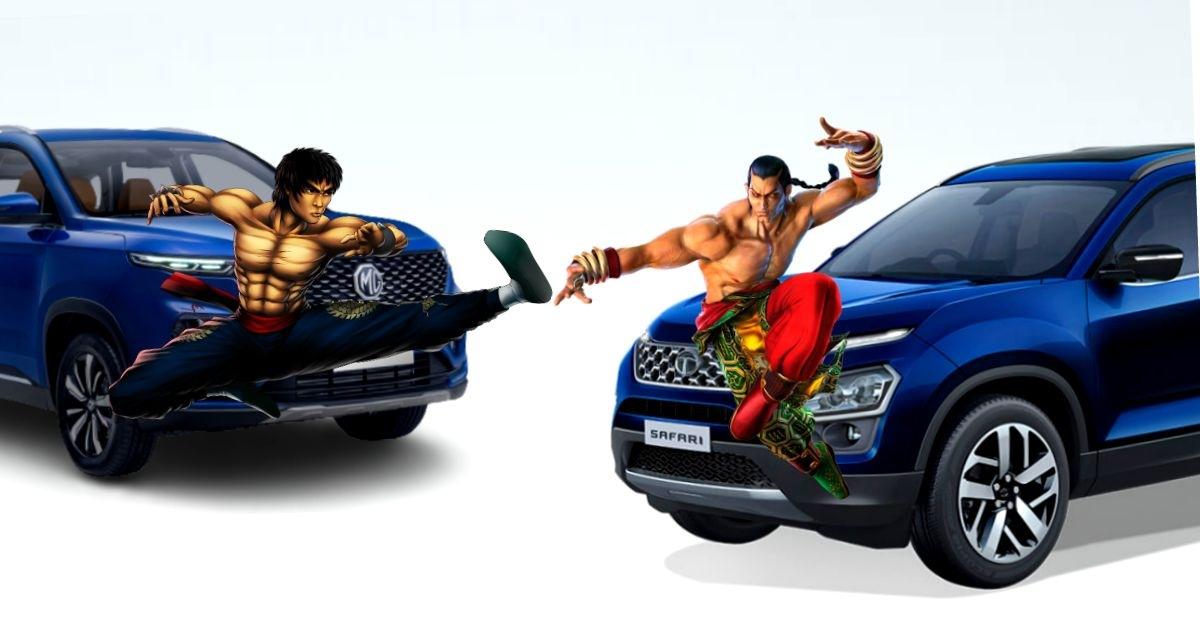 Tata Harrier & Safari beat MG Hector Twins yet again