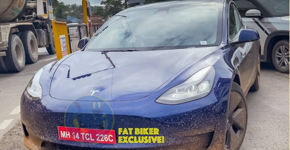 Tesla Model 3 spotted on video ahead of launch