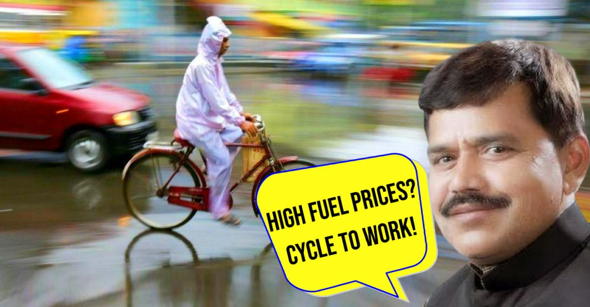 BJP Minister asks people protesting high fuel prices to 'cycle to work'
