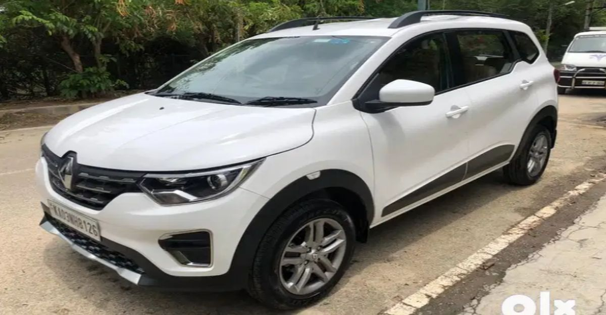 Sparingly Used Renault Triber MPVs for sale
