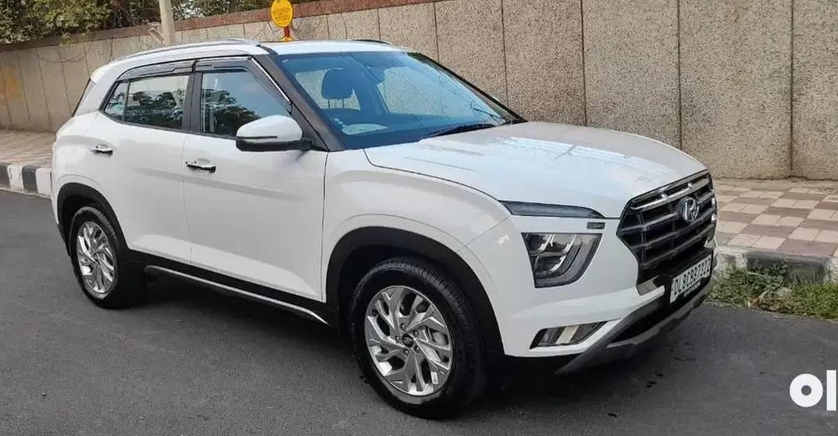 Almost-new 2021 Hyundai Creta compact SUVs for sale
