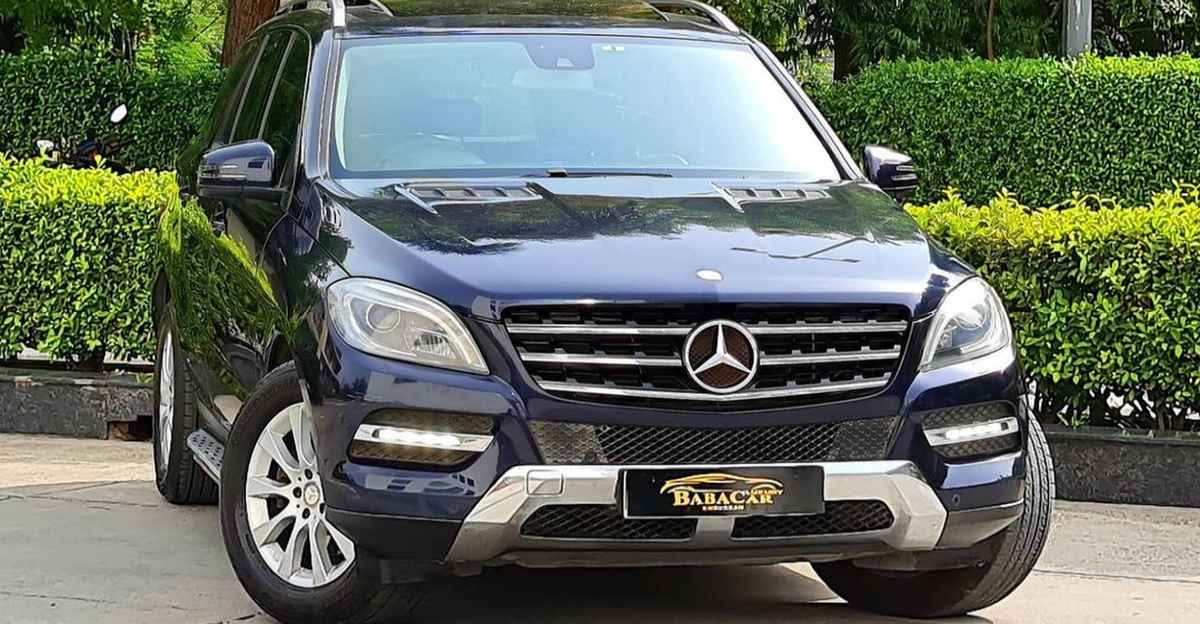 Used Mercedes Benz luxury SUV with 500 Nm of brute torque selling at Hyundai Creta prices