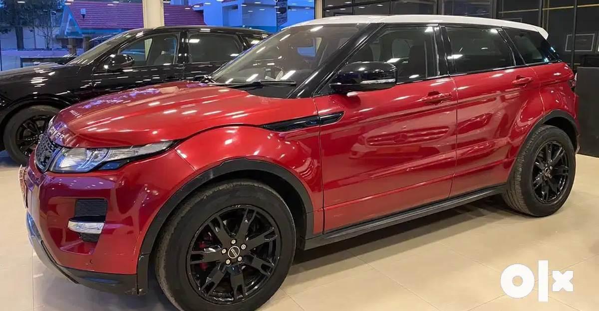 Used Range Rover Evoque SUVs priced under Rs. 20 lakh