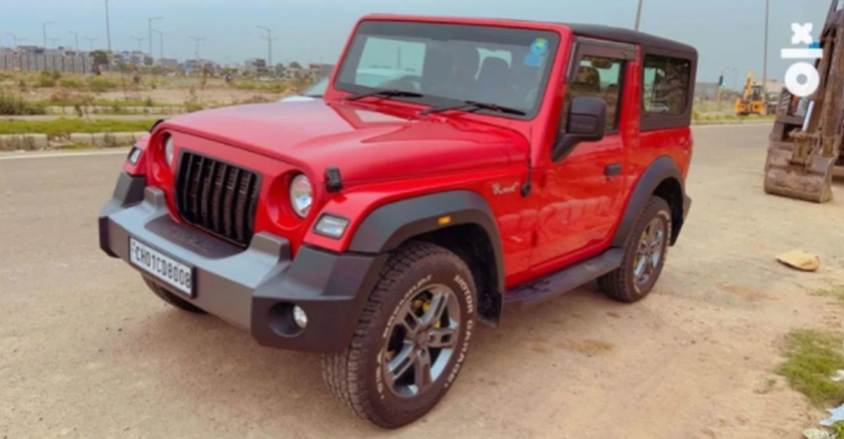 Almost-new Mahindra Thar 4X4s for sale: Skip the waiting period