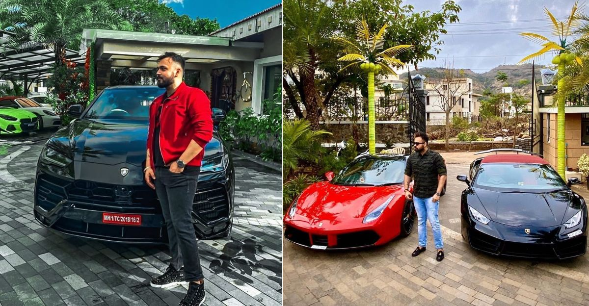 Millionaire Amit Singh and his super exotic collection of cars & SUVs: From Lamborghini to Maybach