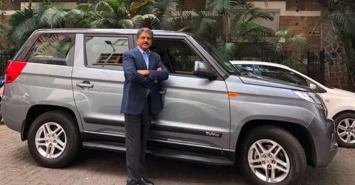 Anand Mahindra & the SUVs he's owned over the years