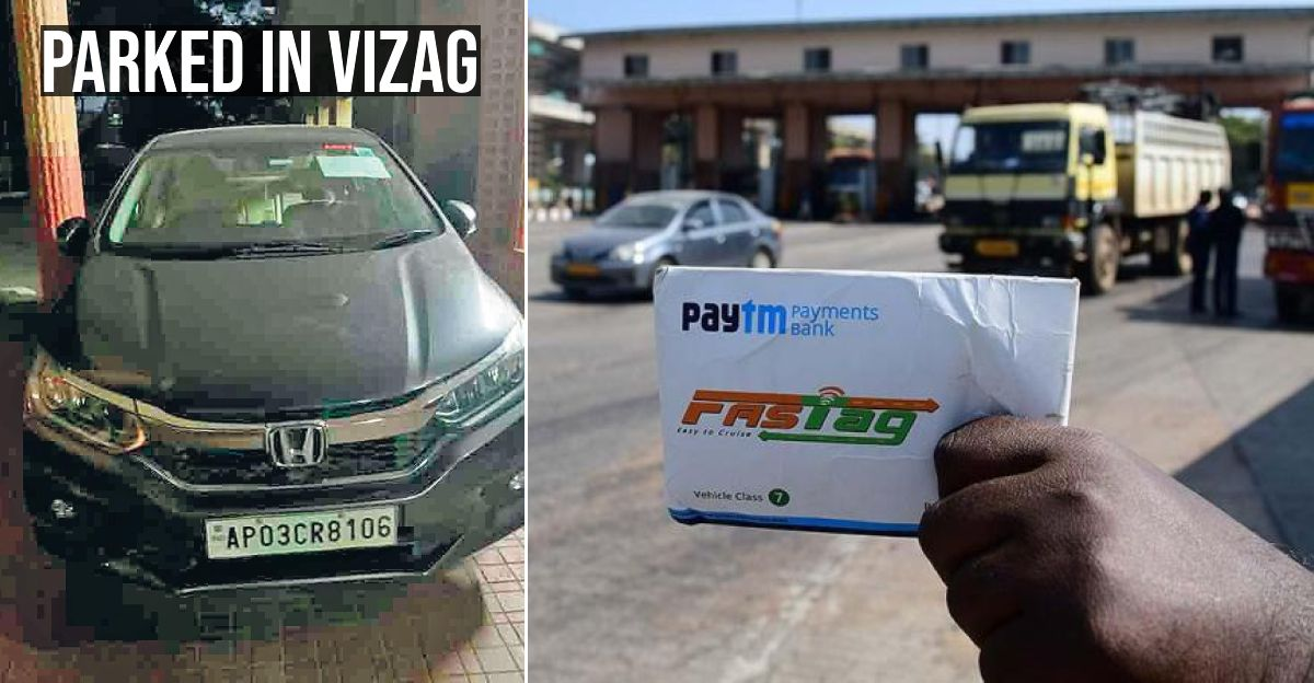 Honda City parked in Vizag gets Fastag bill from Maharashtra 4 times during lockdown