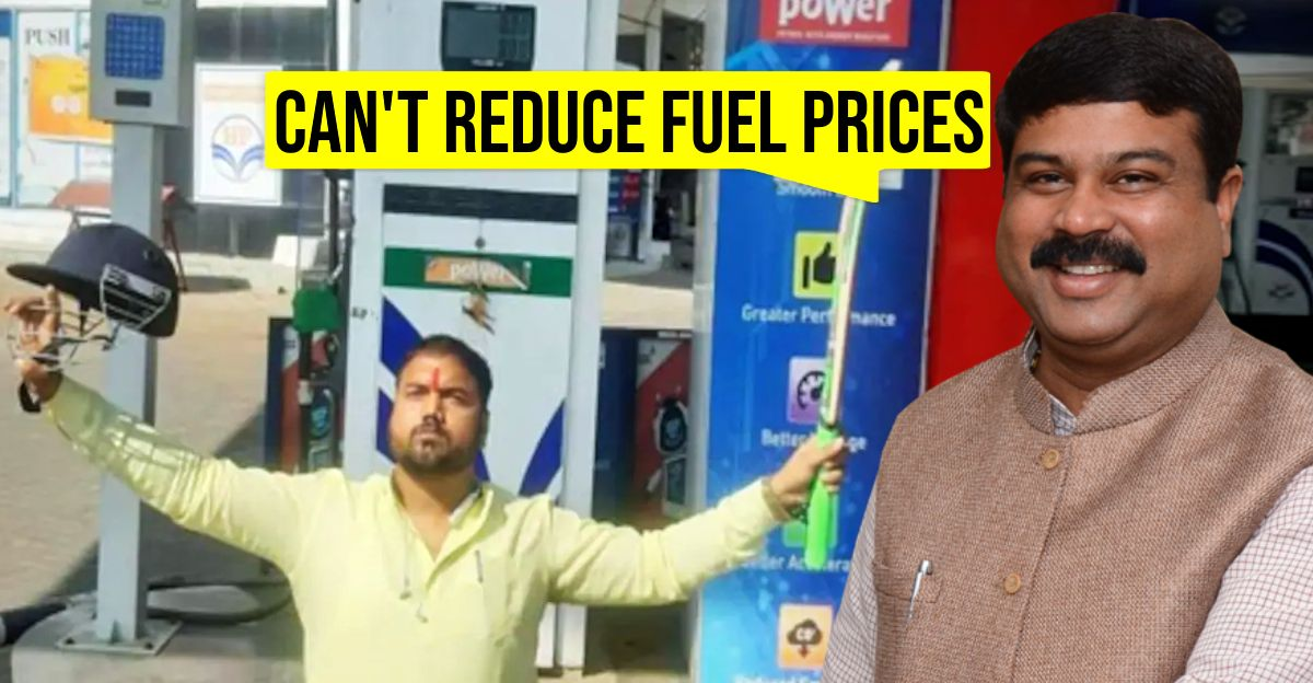 Petrol & diesel prices are problematic but can't bring them down: Petroleum Minister