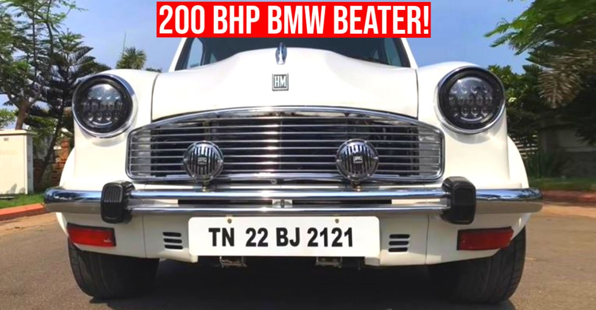 This Hindustan Ambassador with over 200 Bhp costs 30 lakh to build: BMW beater