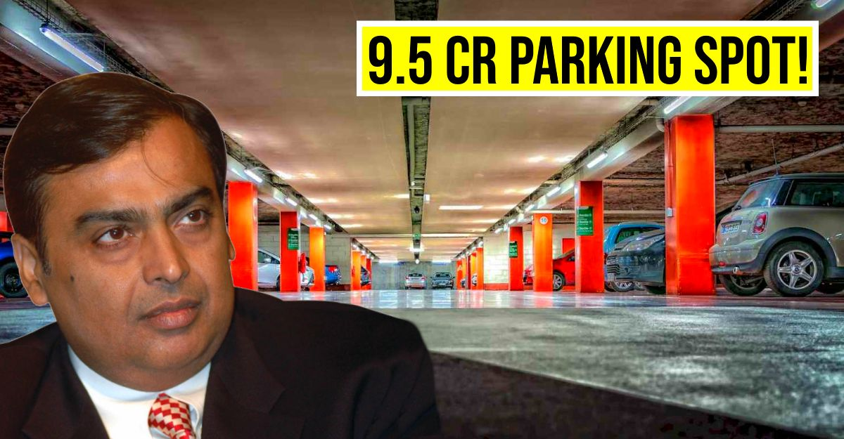 World's most EXPENSIVE parking spot sold for Rs. 9.5 crore